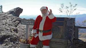 Visit Santa at the Rock!