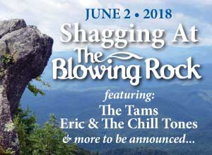 Shagging at The Blowing Rock