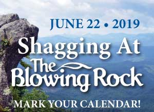 Shagging at The Blowing Rock 2019